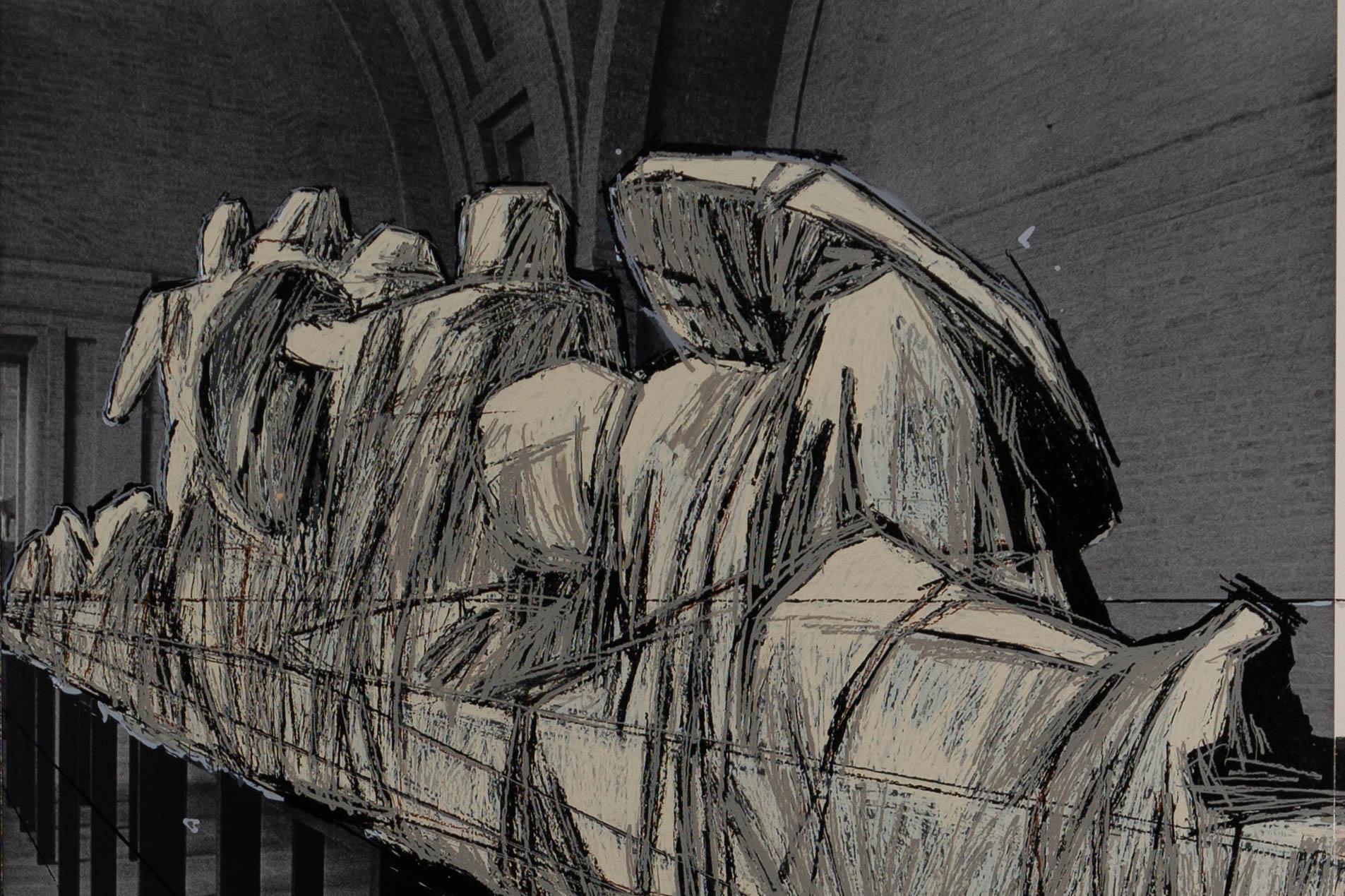 Christo - wrapped figures - detail 12-09-2019 exp (2 van 2)