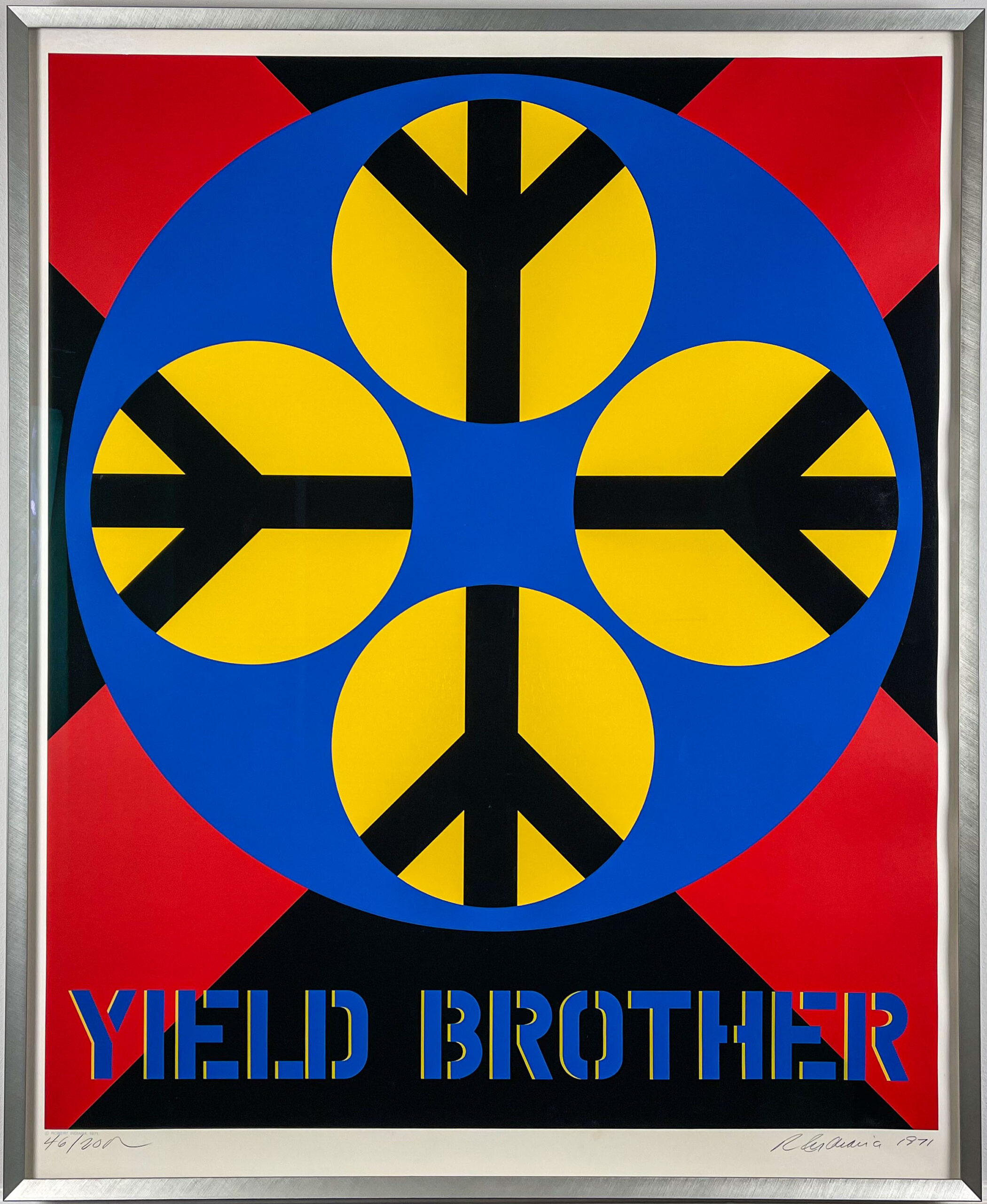 Robert Indiana Yield Brother 1971 Frame web-1
