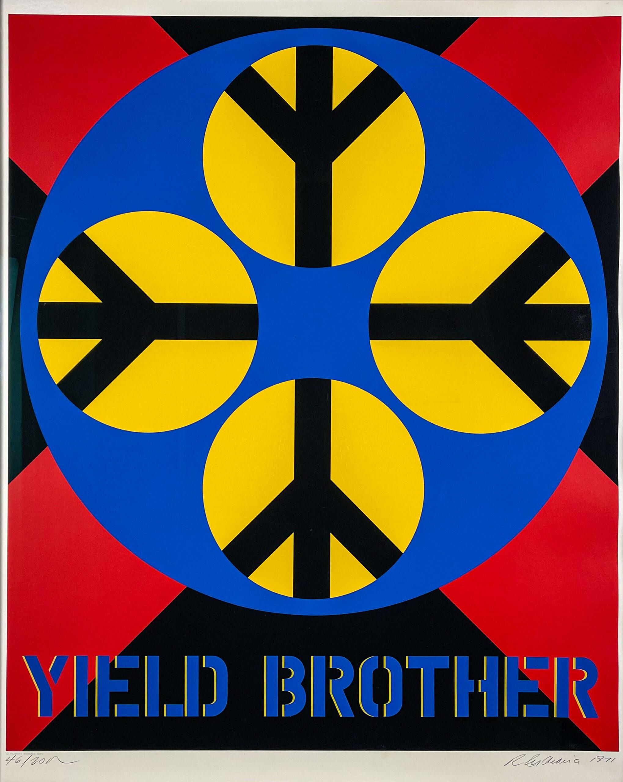 Robert Indiana Yield Brother 1971 Sheet web-1